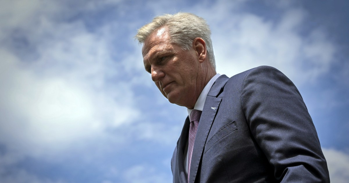 McCarthy opposes bipartisan commission to investigate Jan. 6 Capitol attack