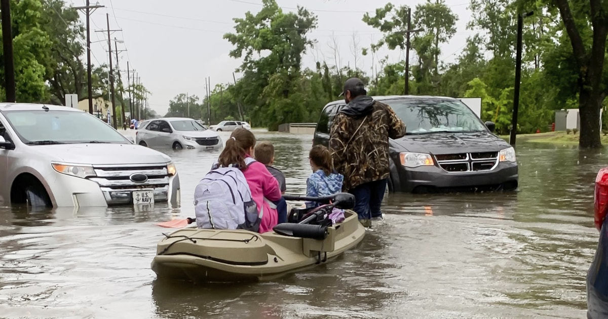 Louisiana storm death toll climbs to 5; hundreds dealing with flood damage