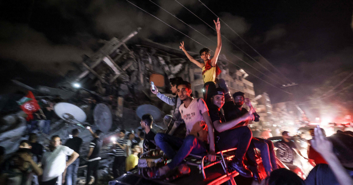 Israel-Hamas truce greeted with relief, skepticism — and celebration in Gaza