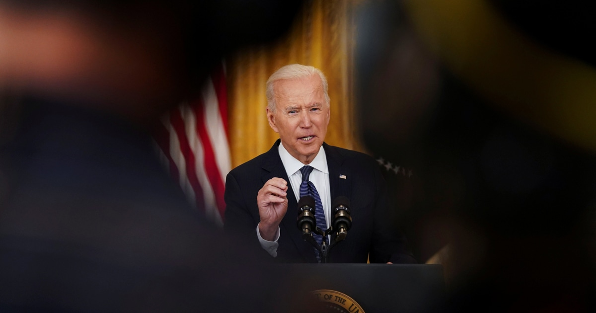 Biden says he won't allow Justice Dept. to seize reporters' records