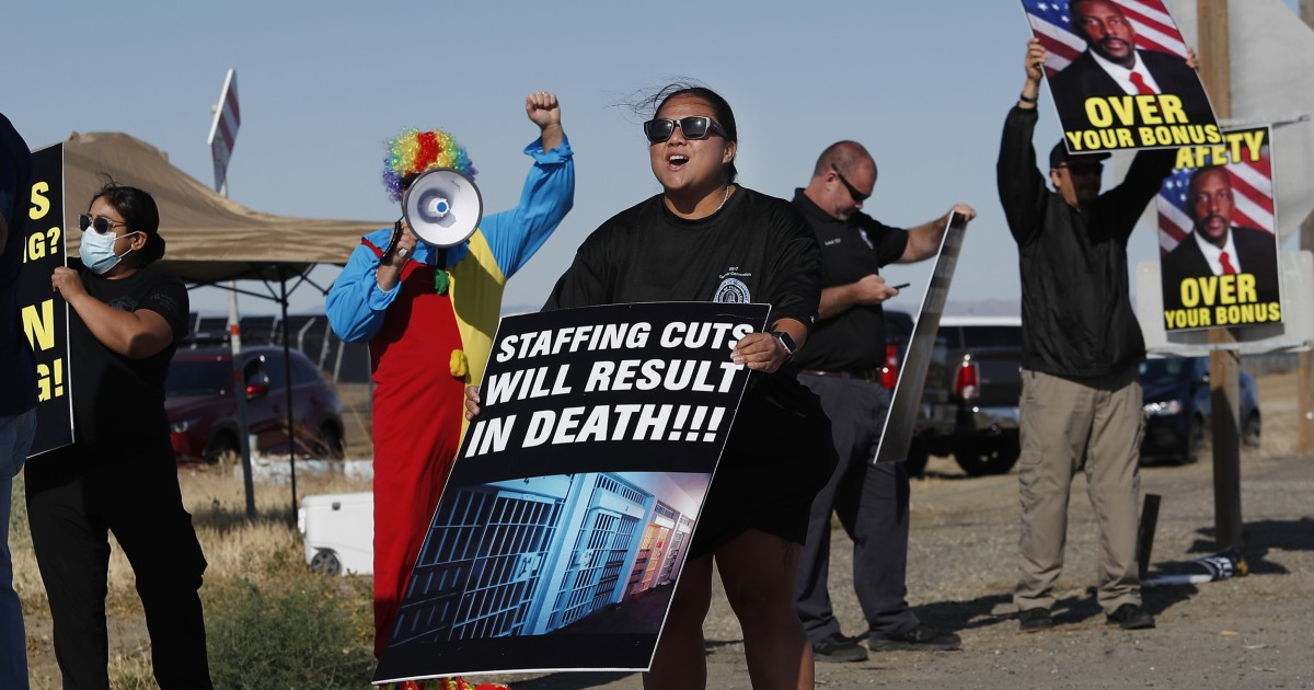 Federal prisons forced to use cooks, nurses to guard inmates due to staff shortages