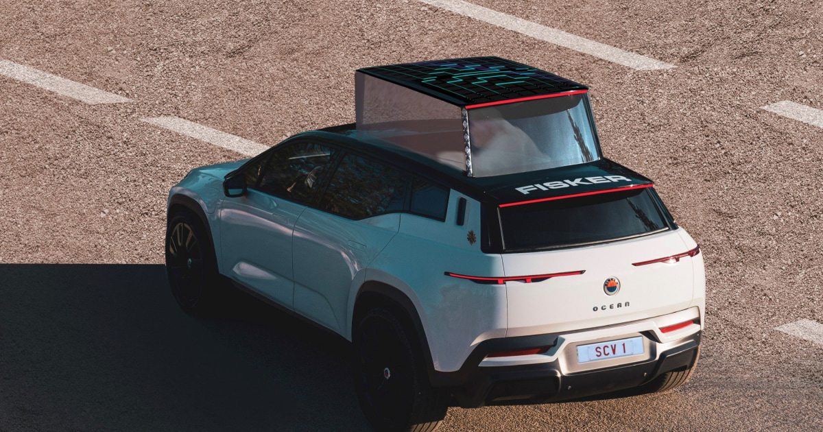 Pope Francis to get all-electric popemobile from EV startup Fisker