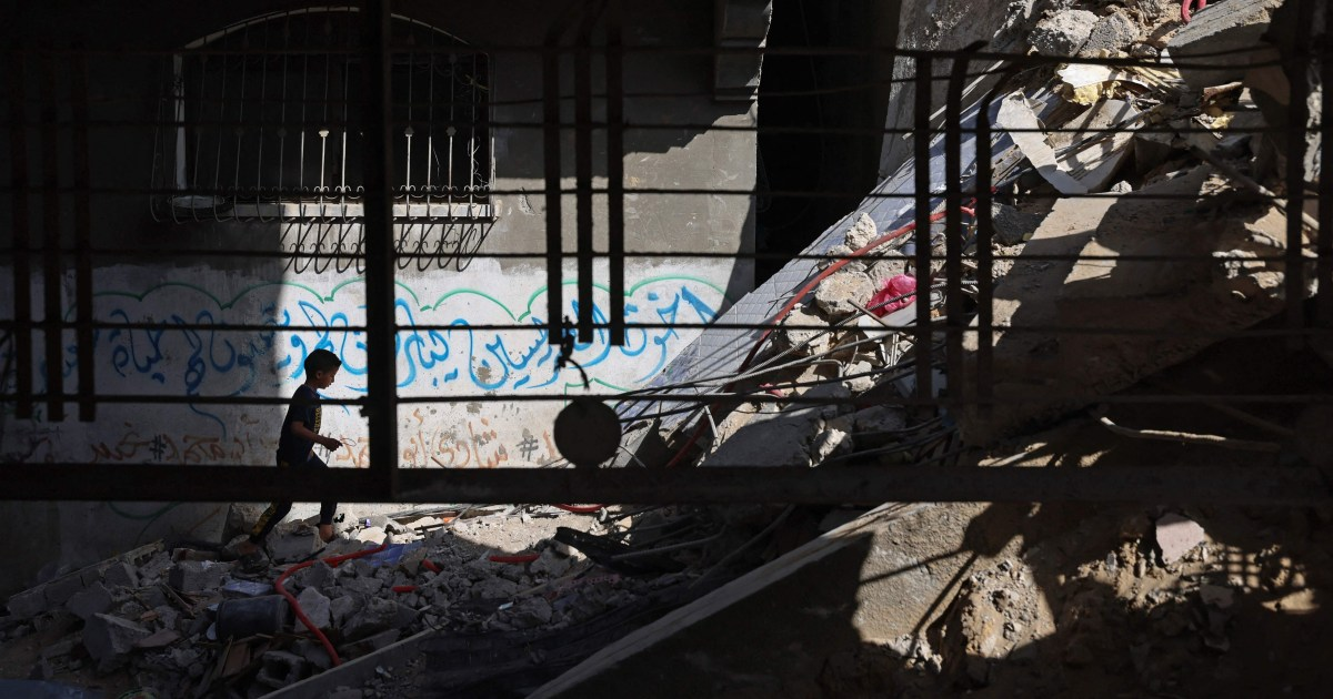As bombs fall silent over Gaza and Israel, 'whole generation' of children face long term trauma