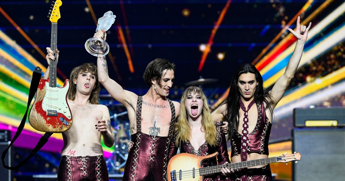 Eurovision winners from Italy to take drug test following green room incident