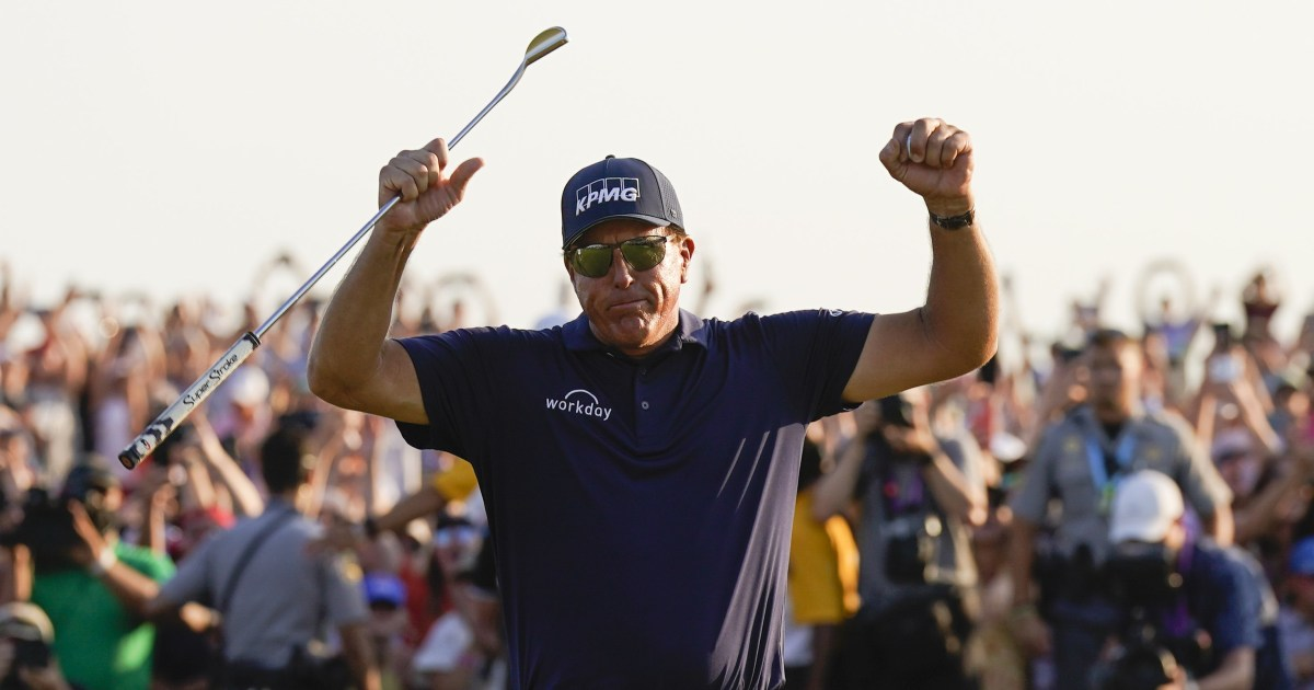 Phil Mickelson wins PGA to be oldest major champ