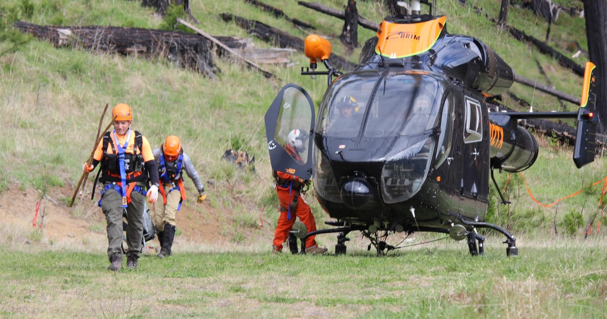 Missing fisherman survives in Oregon wilderness for more than 2 weeks