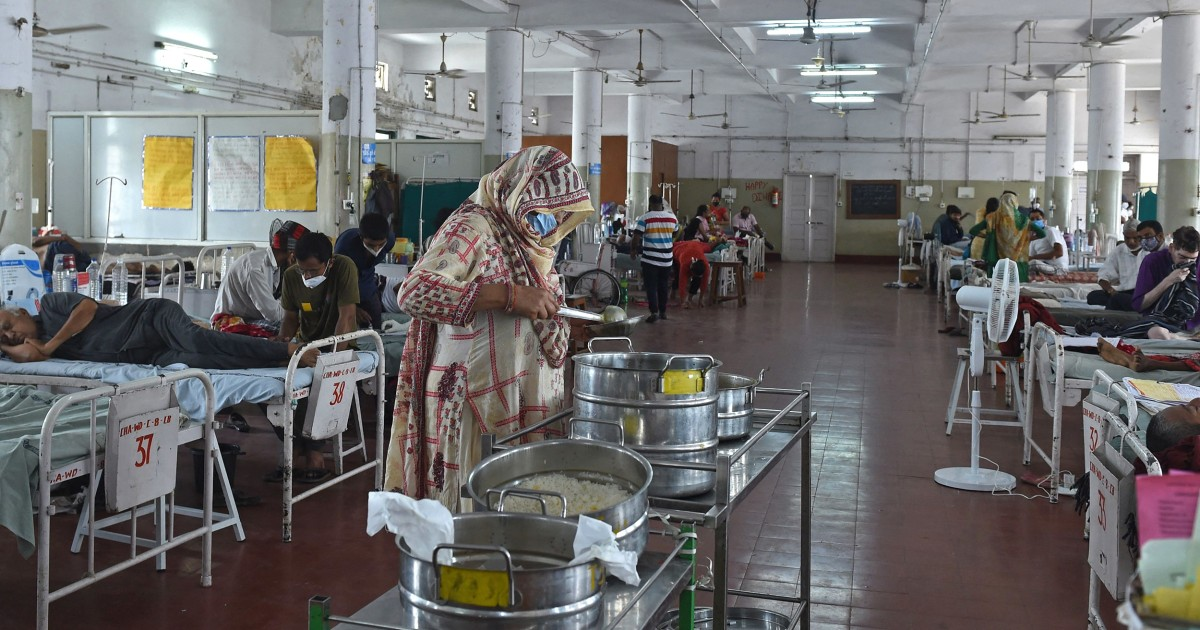 'Black fungus' strikes fear in Indian hospitals as Covid deaths pass 300,000