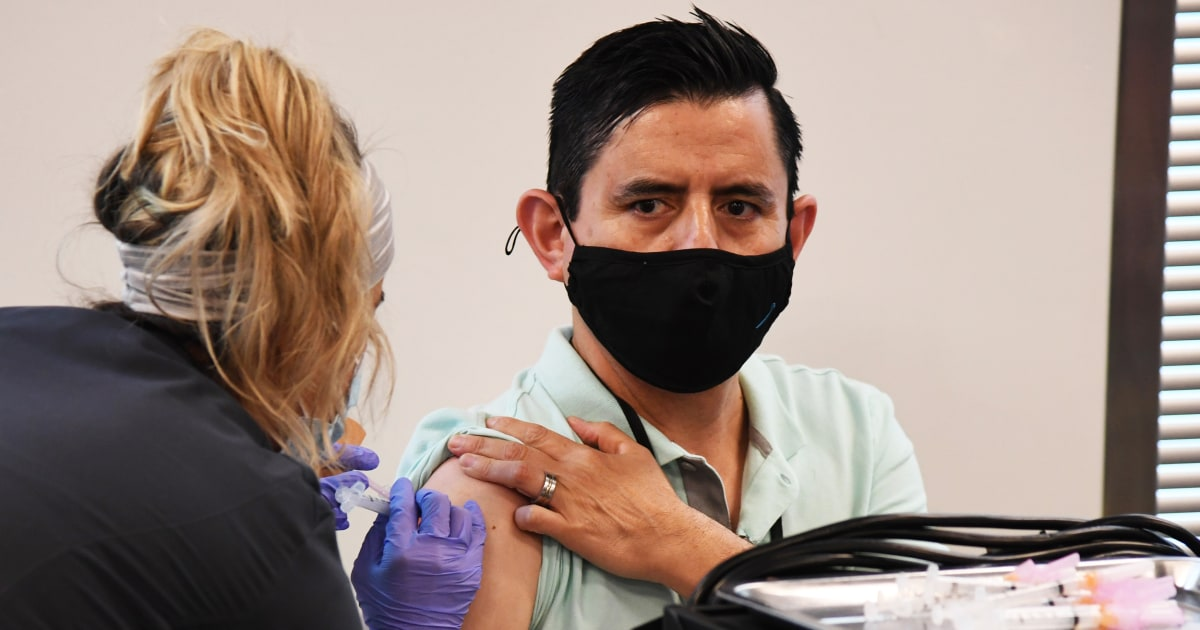 In Nevada, the key to getting Covid vaccines to Latinos has been meeting them where they are
