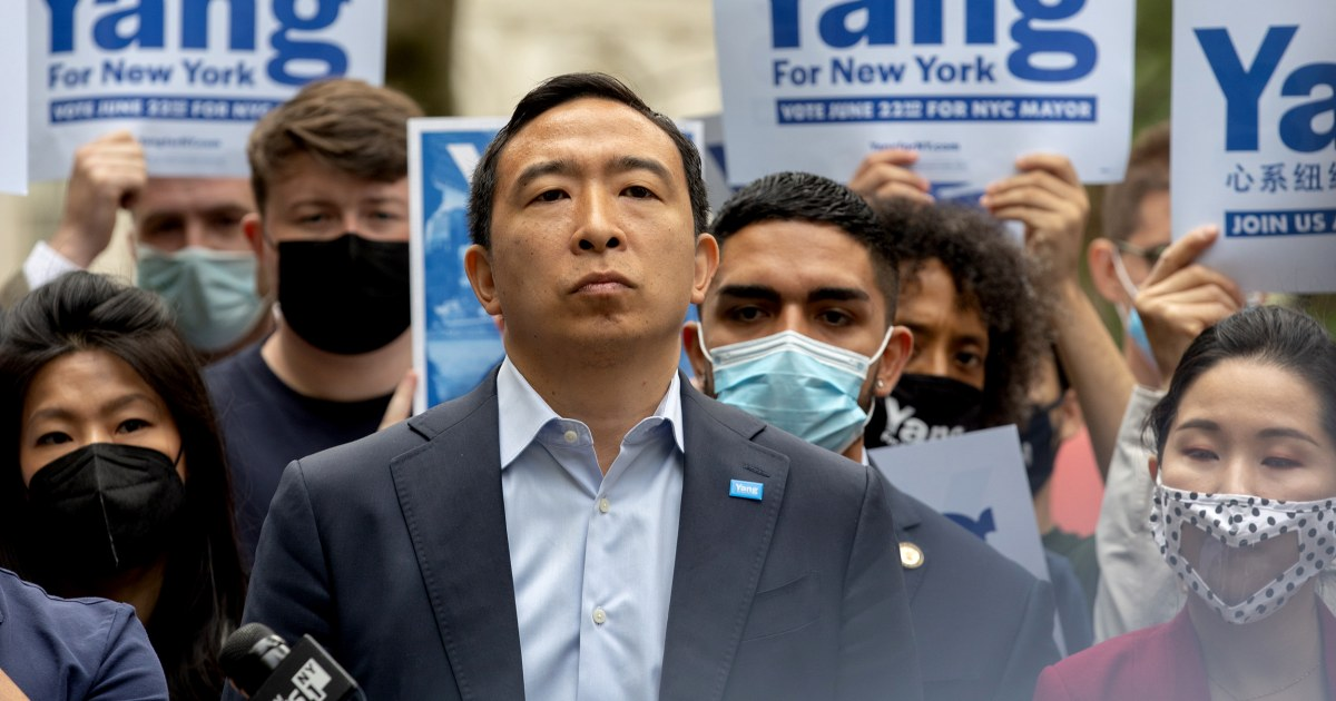New York Daily News changes drawing after backlash over Andrew Yang cartoon