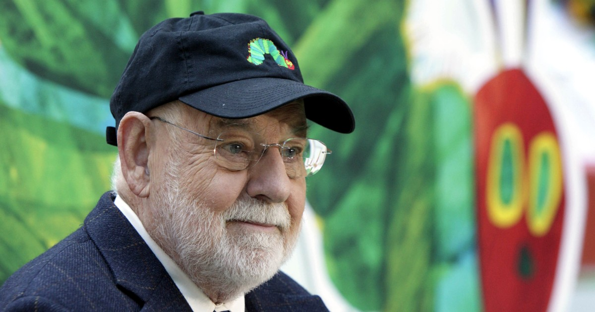 Eric Carle, author of beloved children's book 'The Very Hungry Caterpillar,' dies at 91