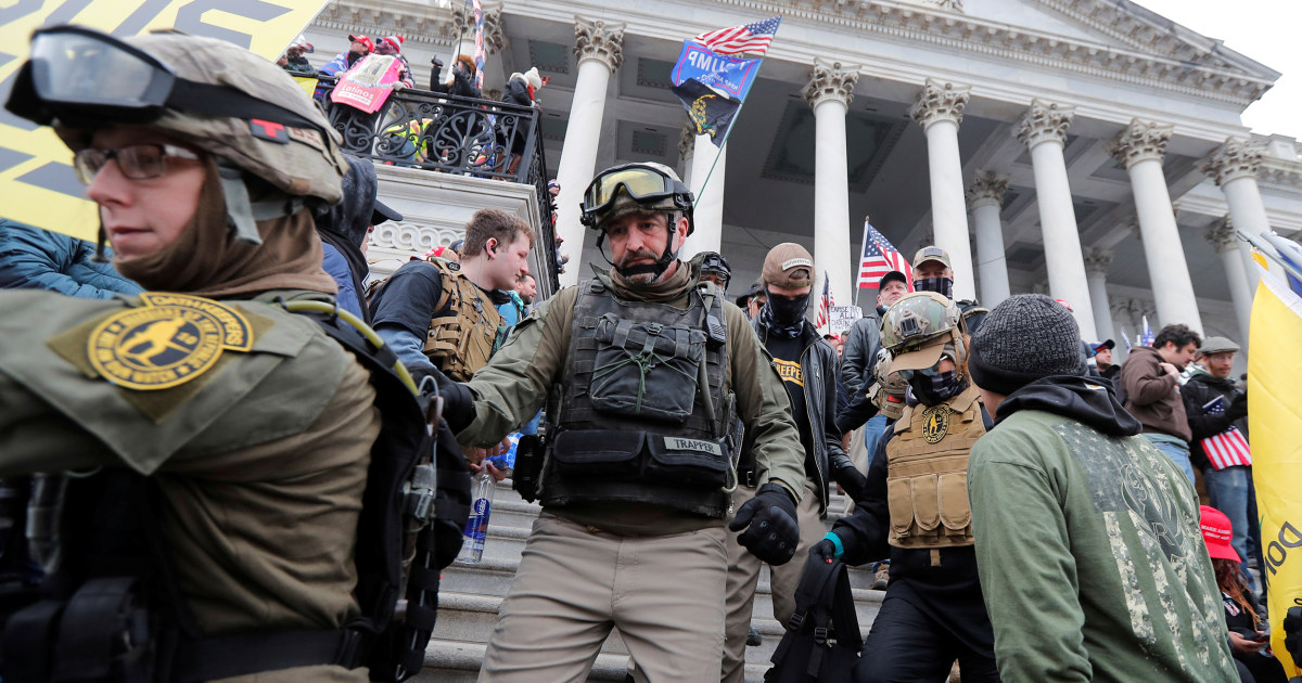 Oath Keepers respond to Capitol riot lawsuit, say they didn't interrupt Congress' duties