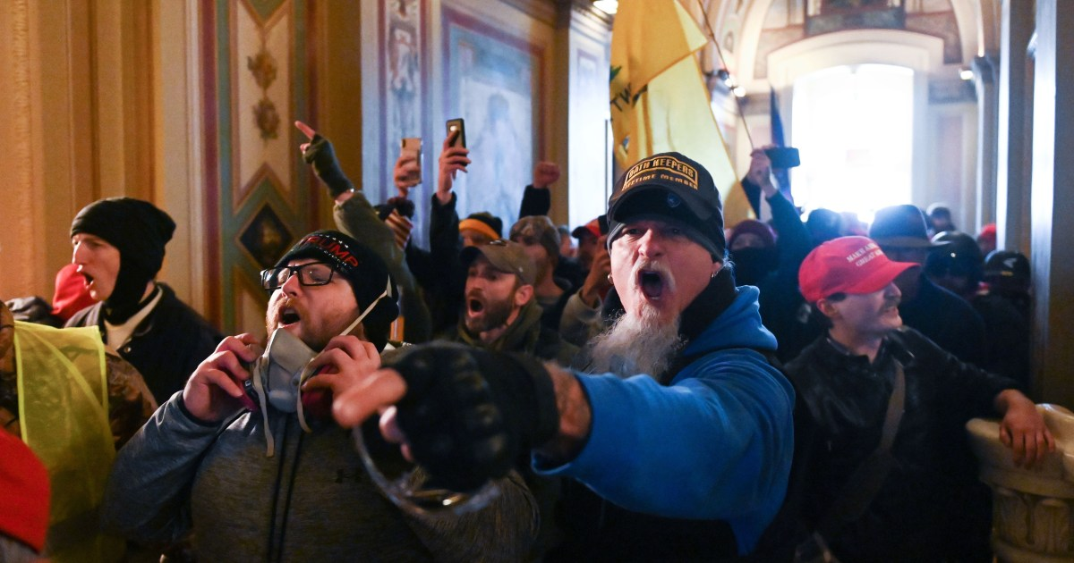 Some accused in Capitol riot will argue they were misled by election falsehoods