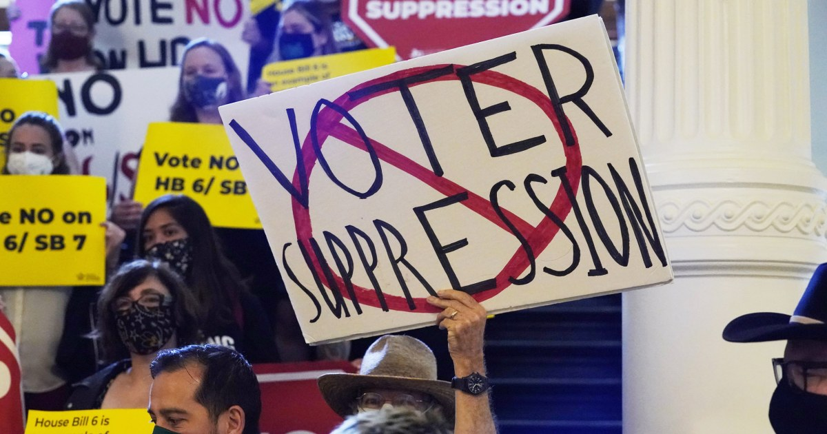 Texas Democrats stage walkout to stop debate on restrictive voting bill, delaying final passage