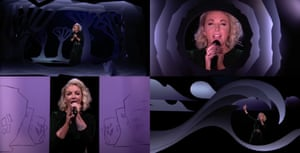 A montage of scenes from Ireland's Eurovision entry.