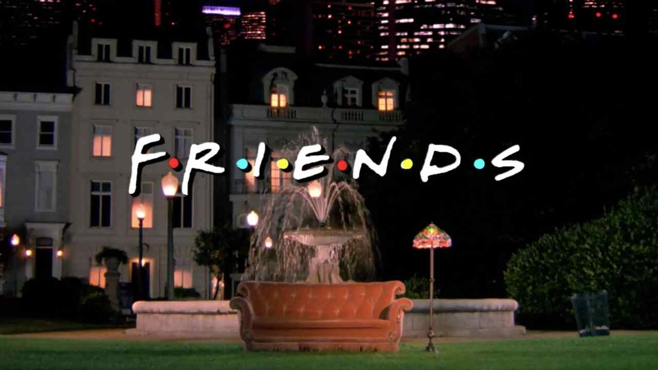 Friends: how the actors met in the credits fountain - news series on tv