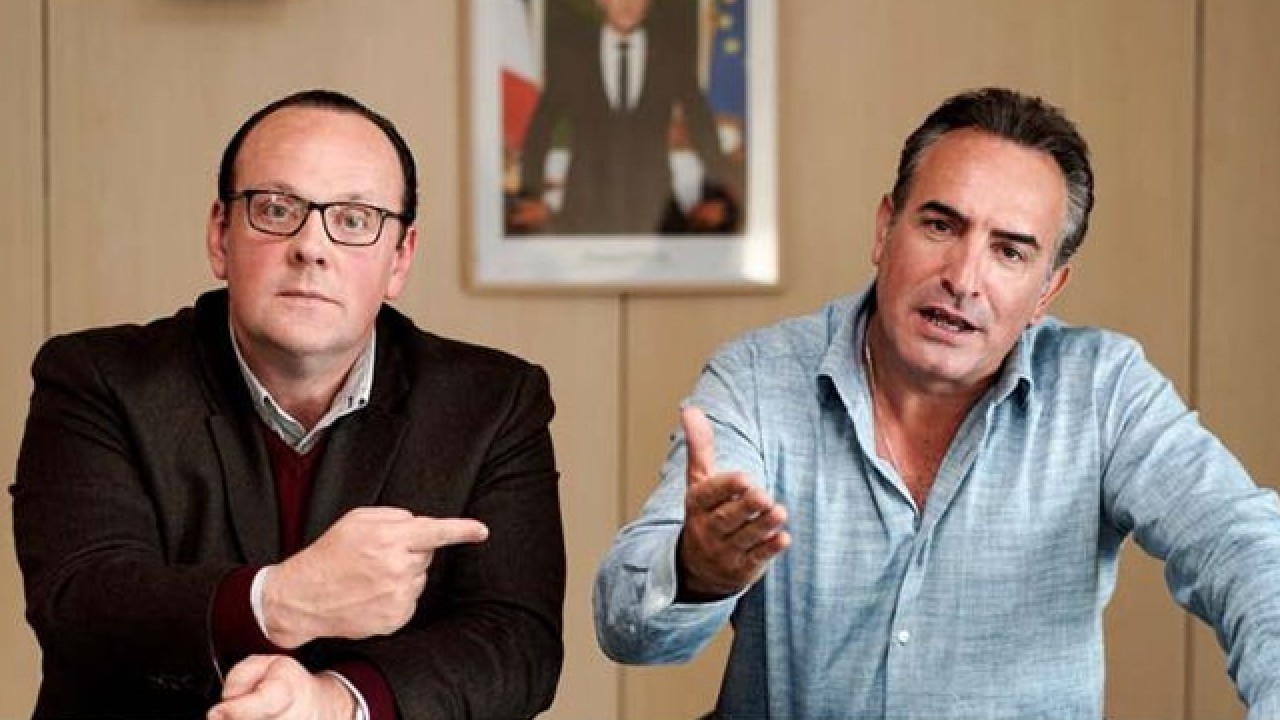 Presidents trailer: Jean Dujardin and Grégory Gadebois in the electoral campaign