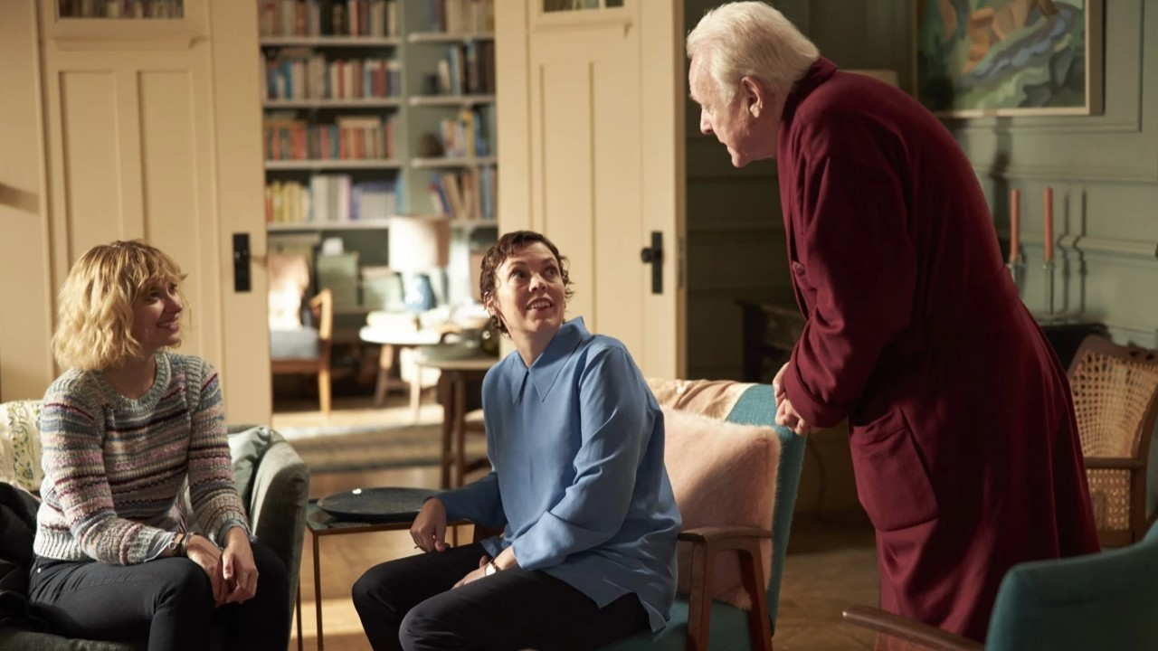 The Father: meeting with Anthony Hopkins, Olivia Colman and Florian Zeller