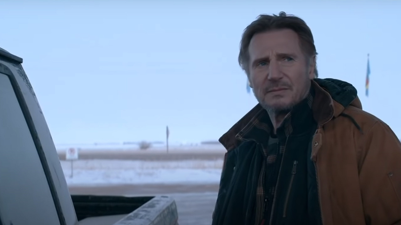 The Ice Road on Netflix: a chilling trailer for the action movie starring Liam Neeson and Laurence Fishburne