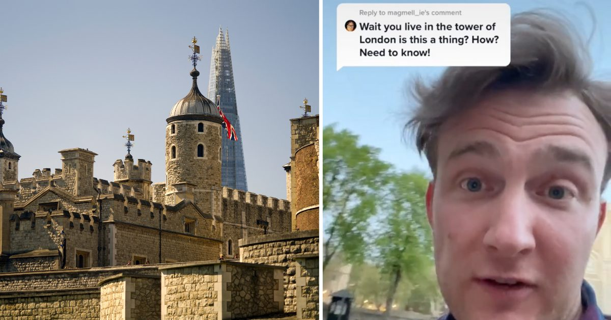 This Comedian Lives In The Tower Of London — And No, He's Not Joking