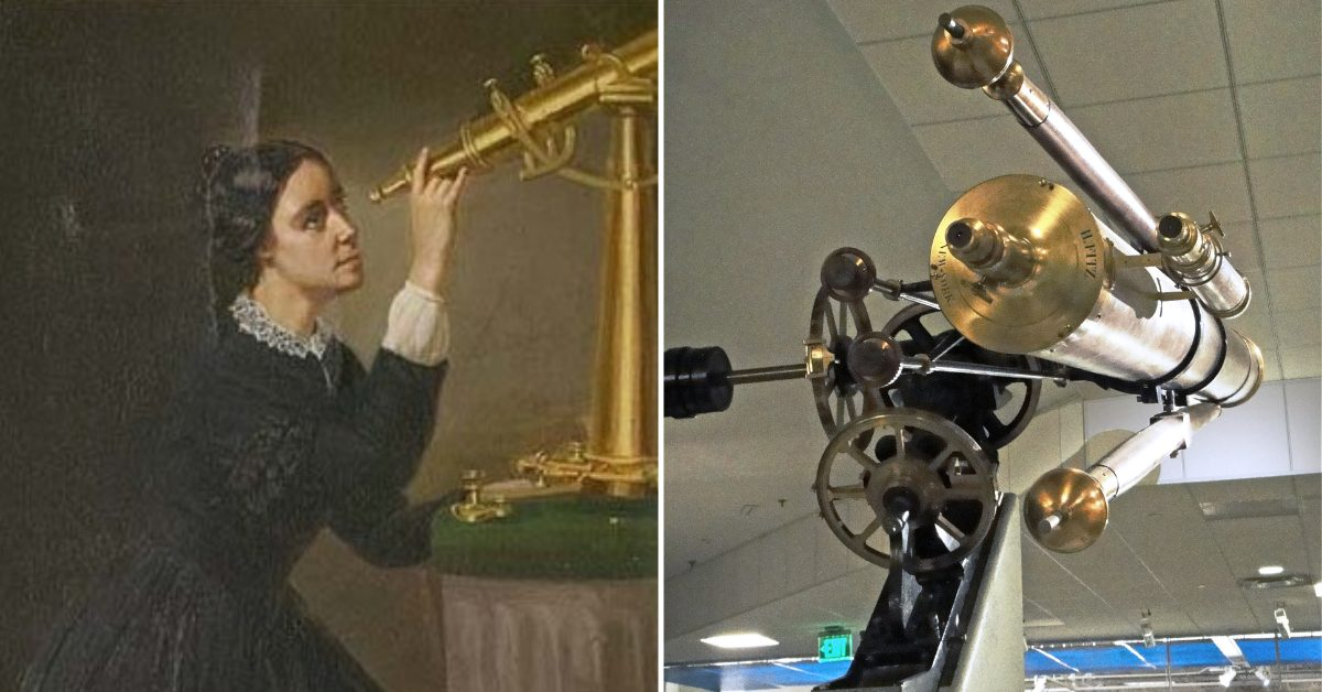 Maria Mitchell And The Surprise Telescope