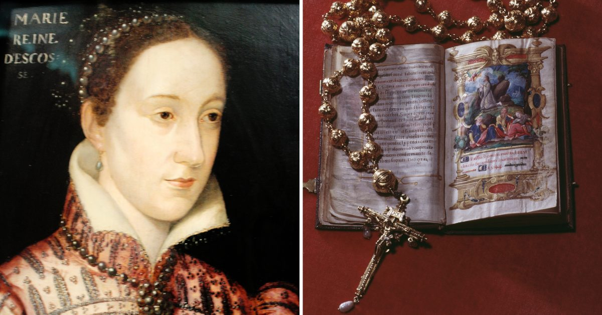 Mary Queen Of Scots' Gold Rosary Stolen In Heartbreaking Raid