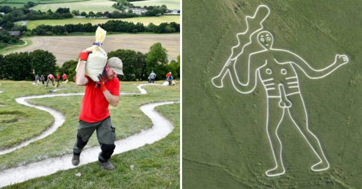 Ancient Hill Figure 'The Cerne Giant' Is Not So Ancient After All