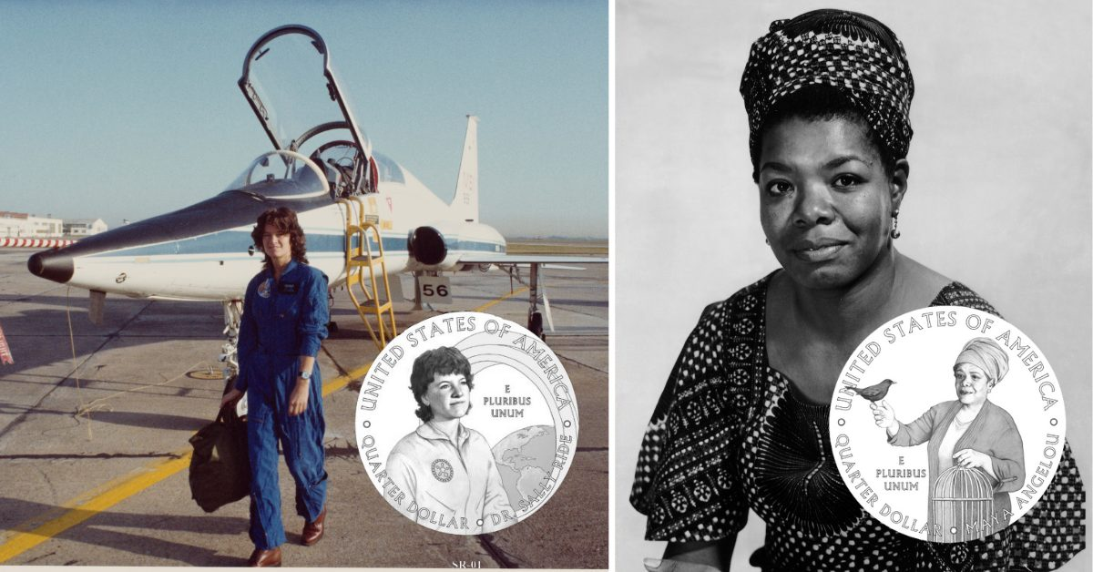 Maya Angelou And Sally Ride To Be On The Quarter: It Makes Cents