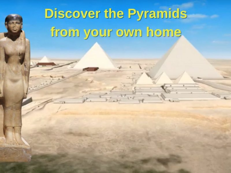 Visit The Giza Plateau In 3D From Your Own Home