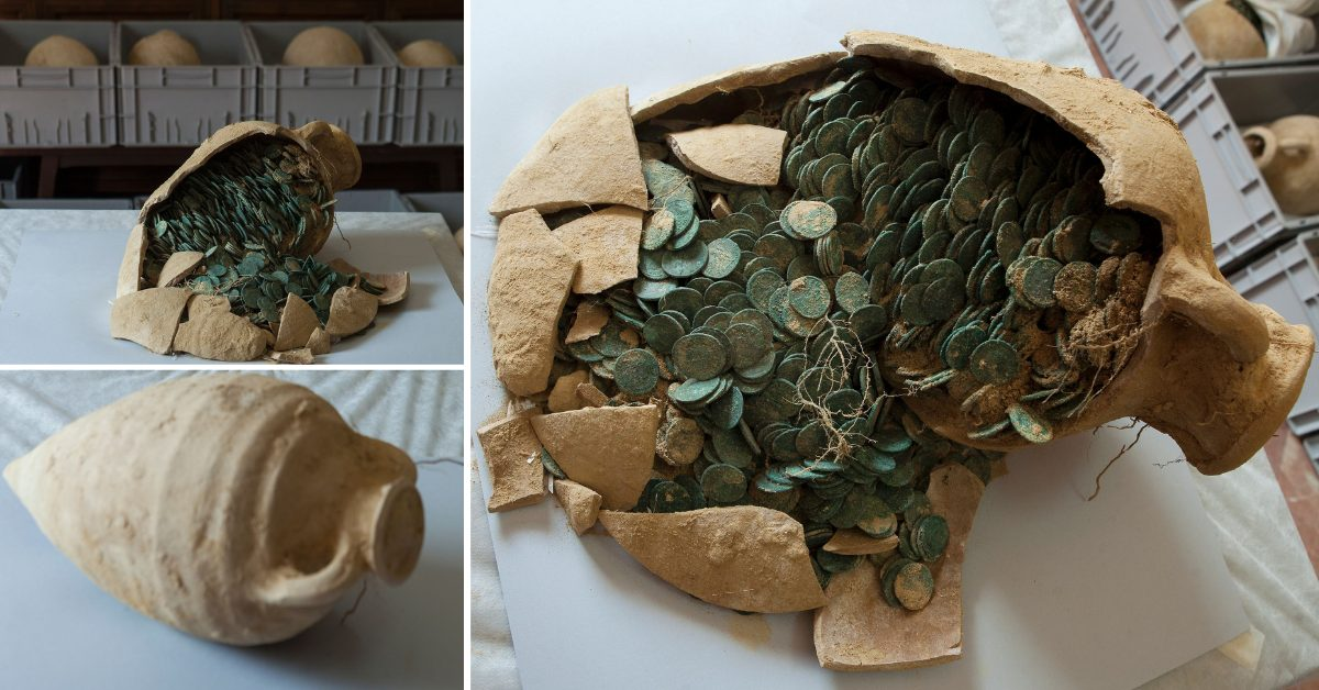 Rare Coin Trove In Spain Was One Of World's Largest