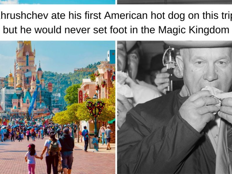 Why Khrushchev Never Got To Disneyland