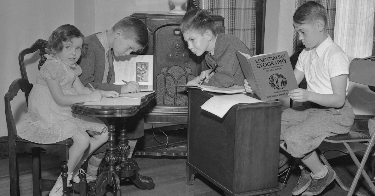 Distance Learning Looked A Lot Different in the 1930s