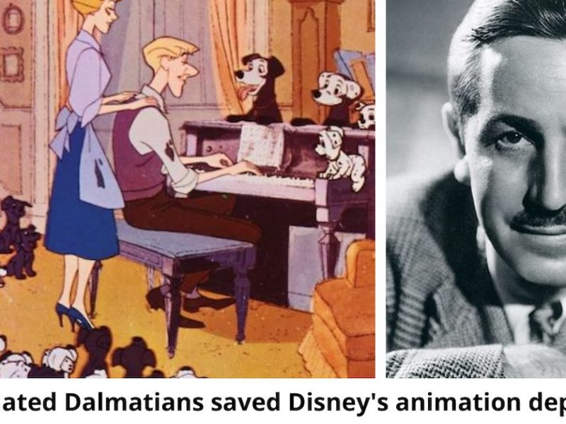 Puppies Everywhere! How 'One Hundred and One Dalmatians' Saved Disney