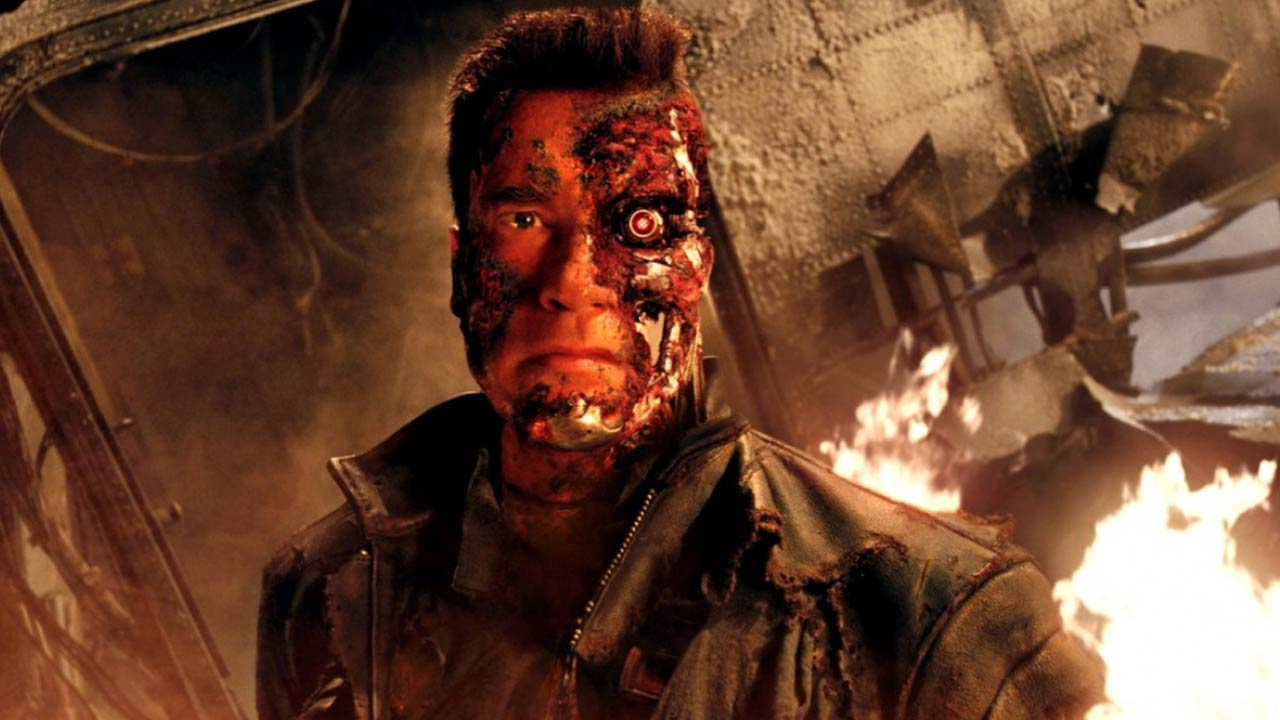 Terminator 3: why do the T-800s all have the head of Arnold Schwarzenegger in the saga?  - Cinema News