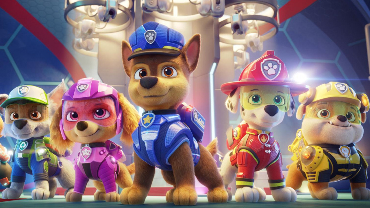 Paw Patrol trailer: the film adapted from the animated series is revealed!  - Cinema News