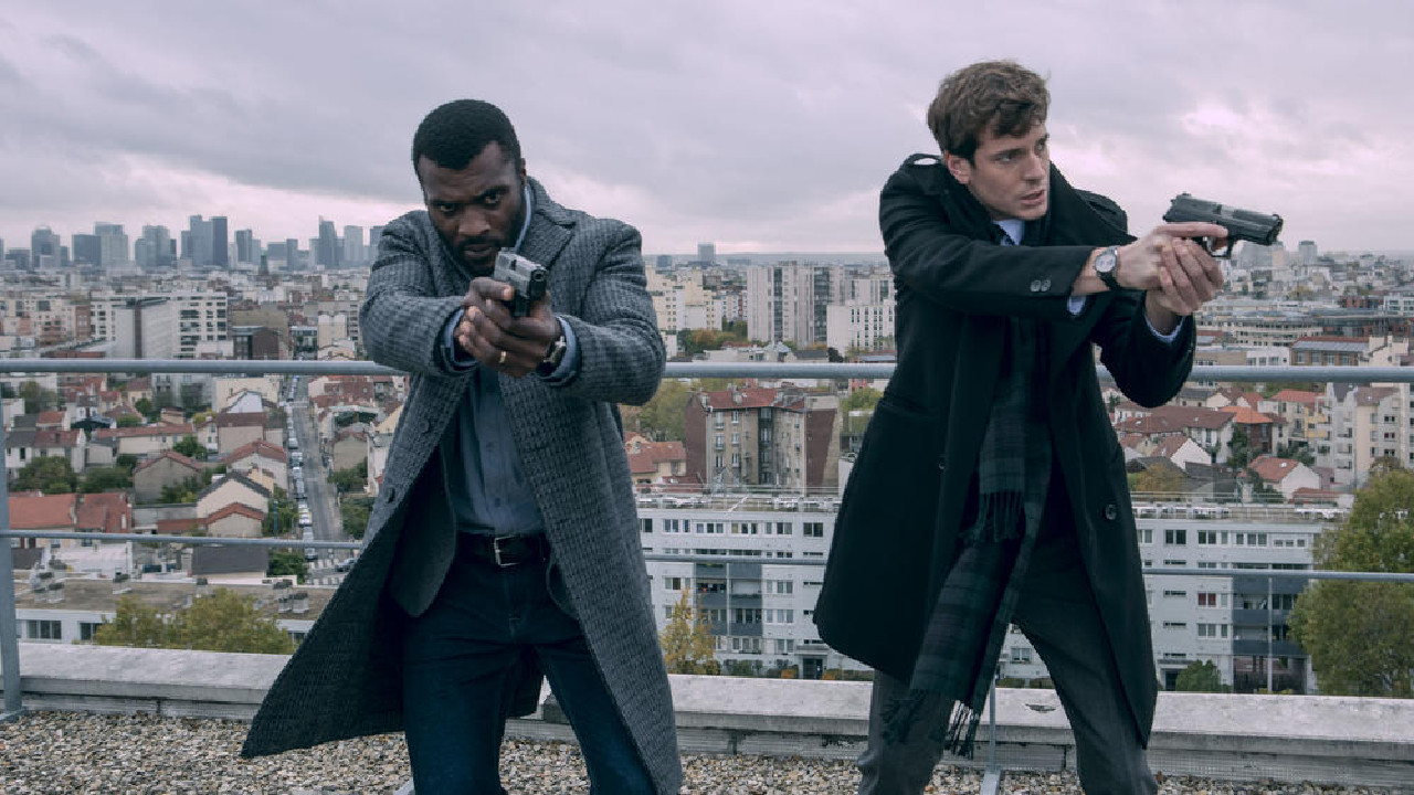 Luther on TF1: what do the actors in the original version look like?