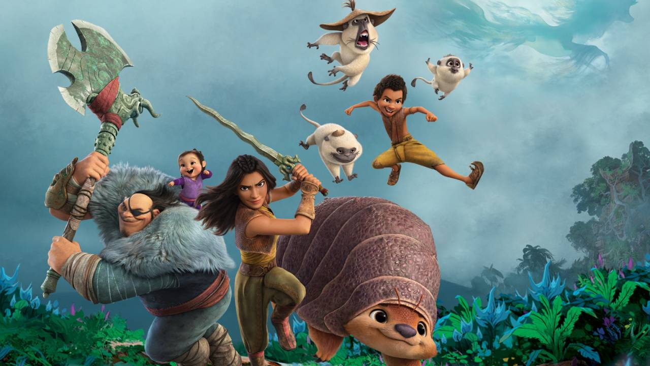 Raya and the last dragon on Disney +: from what age to see the film?  - Cinema News