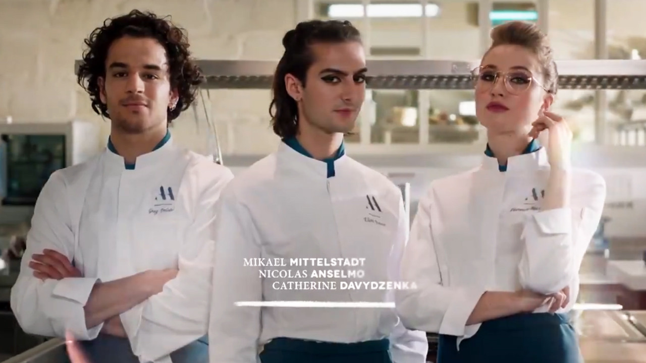 Here it all begins: discover the new credits with Eliott, Greg, Hortense, and Louis - News Series on TV