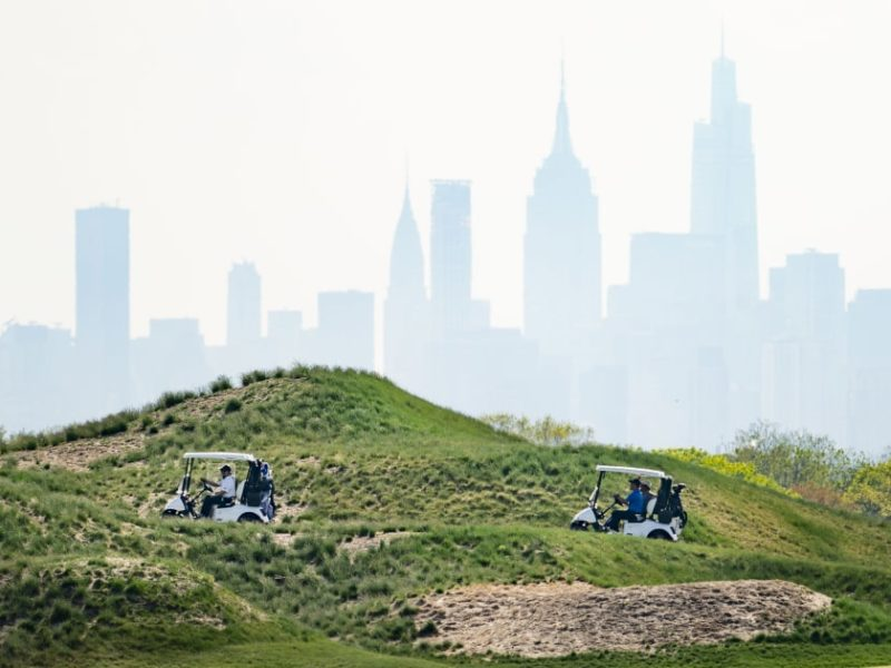Trump sues NYC over termination of golf course contract. The case is likely to be dismissed.