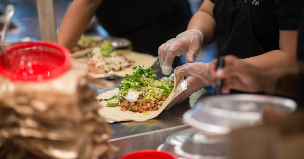 Chipotle prices go up to help cover cost of higher wages for employees