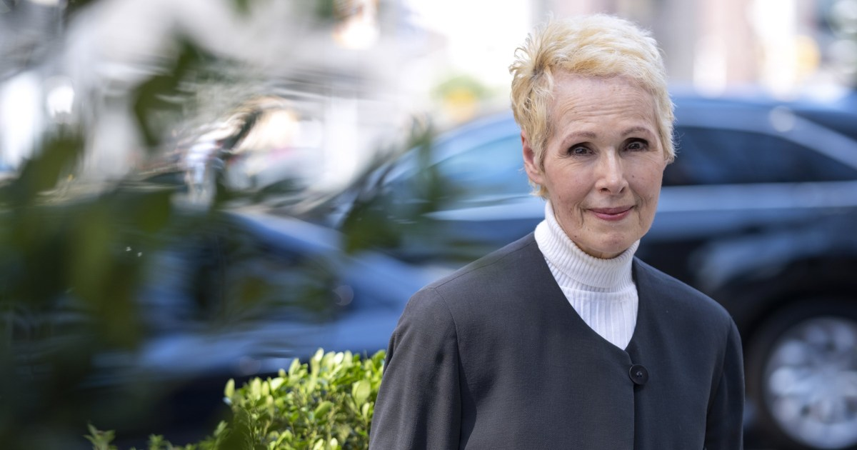 Biden's Justice Department moves to defend Trump in defamation suit from accuser E. Jean Carroll