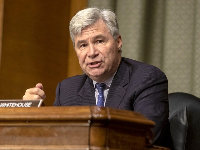 Sen. Whitehouse defends membership in private beach club that's allegedly all-white