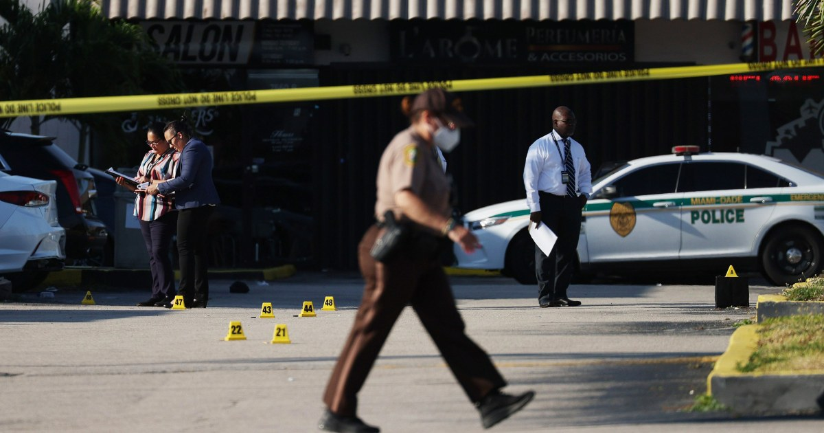 Third person dies after Miami shooting that wounded more than 20