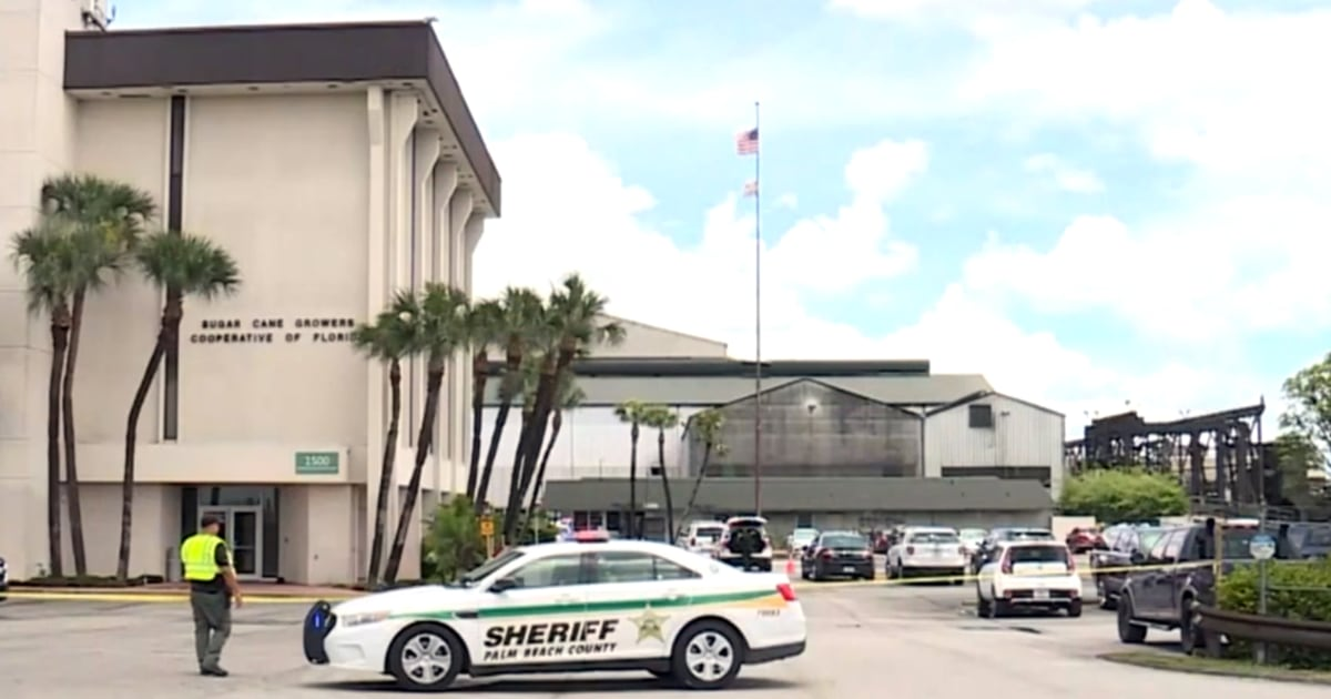 Florida sugar mill worker, 86, fatally shoots boss after he's fired, sheriff says