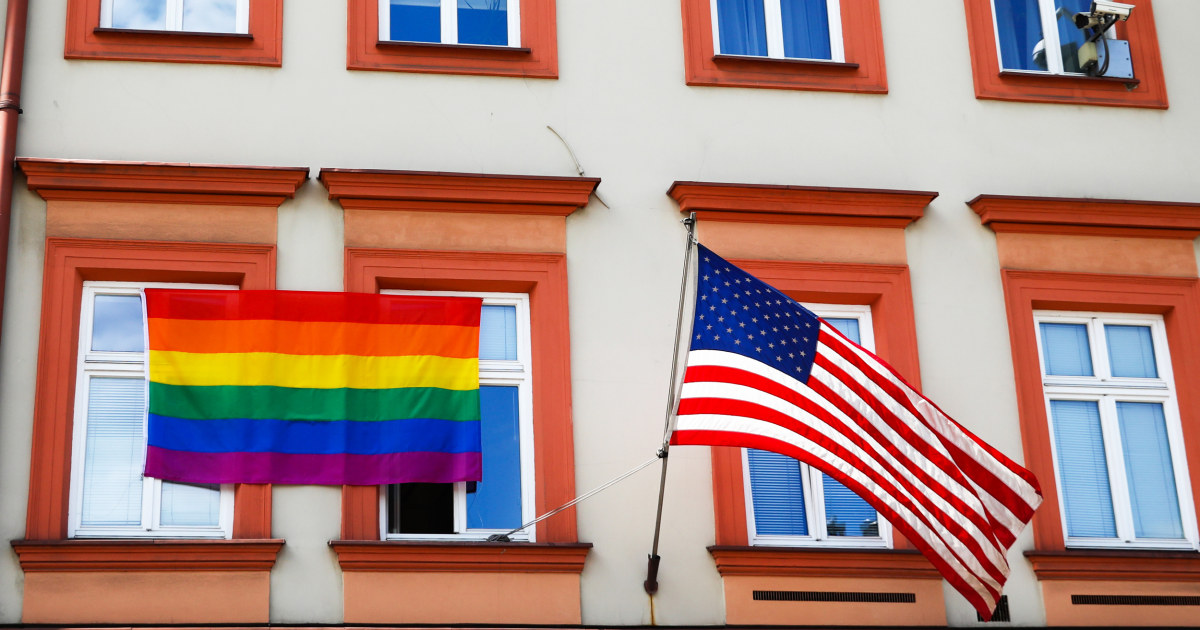 Pride flags to remain banned on military bases, Pentagon says