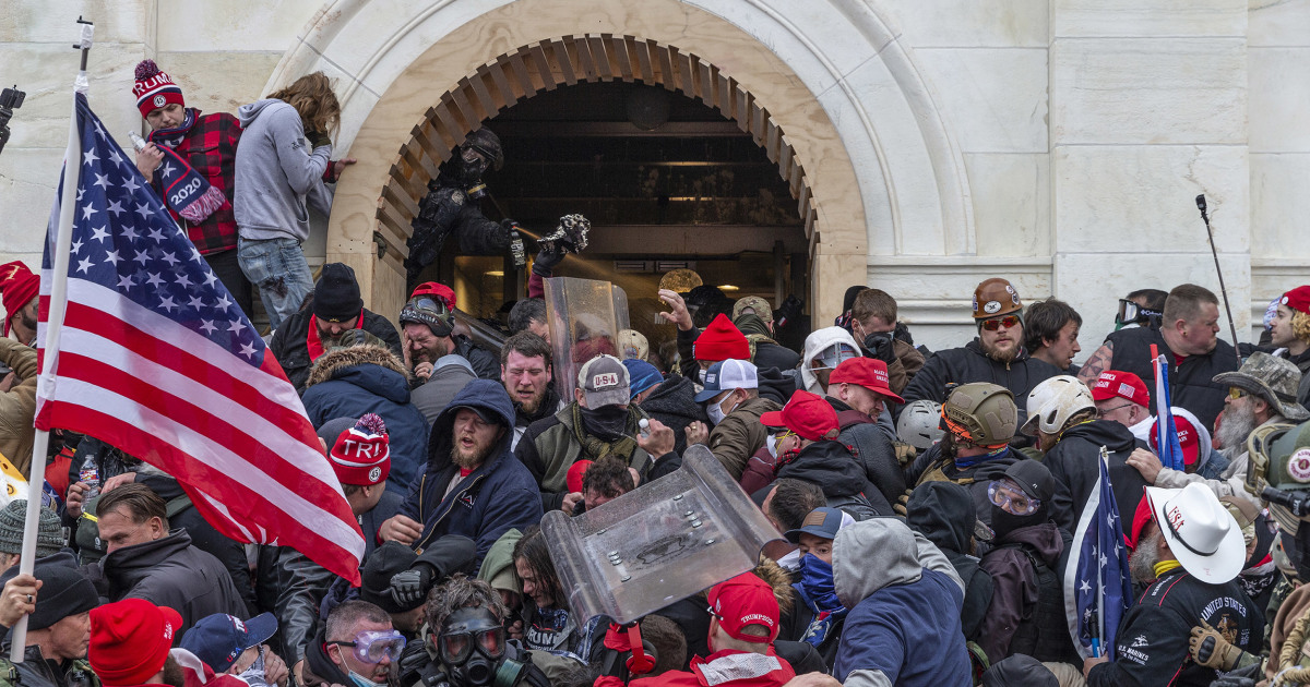 The Capitol riot Senate report overlooks GOP lawmakers who were there — and still in office