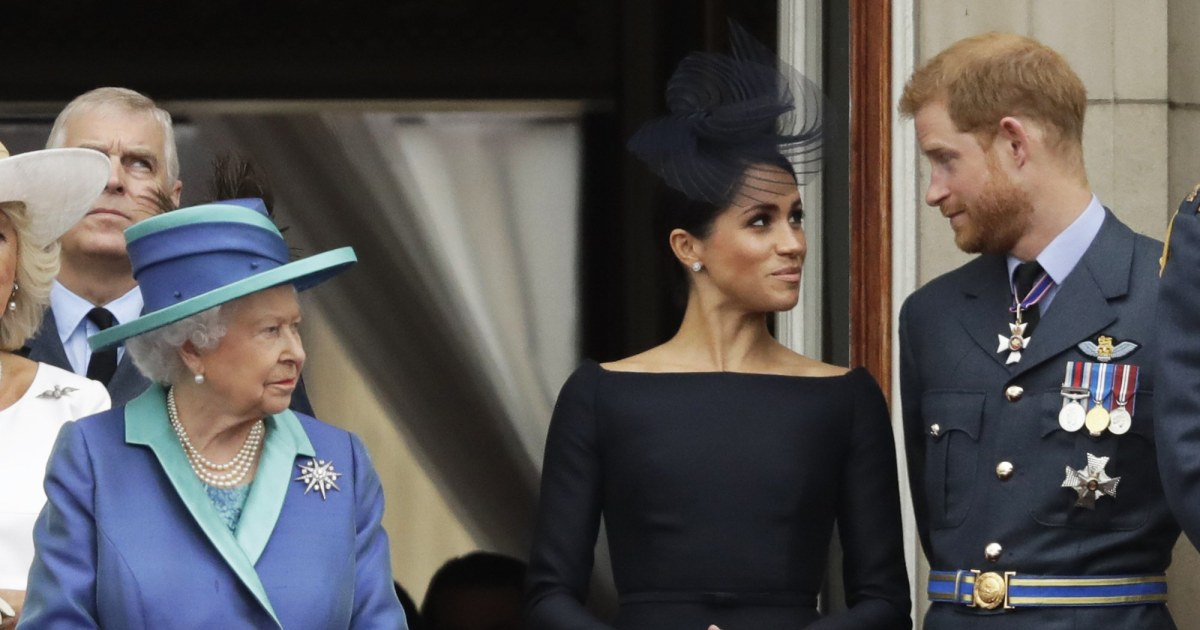 Harry and Meghan deny claim queen was not consulted on naming new daughter Lilibet