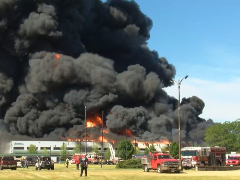 Fire at Illinois chemical plant could cause 'environmental nightmare,' fire chief says