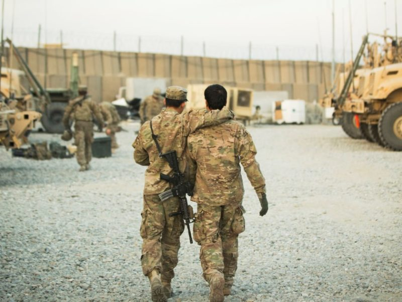 The Biden administration says it will evacuate Afghans who worked with U.S. troops