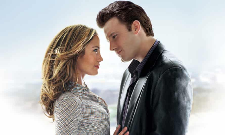 Jennifer Lopez and Ben Affleck in the 2003 film Gigli.