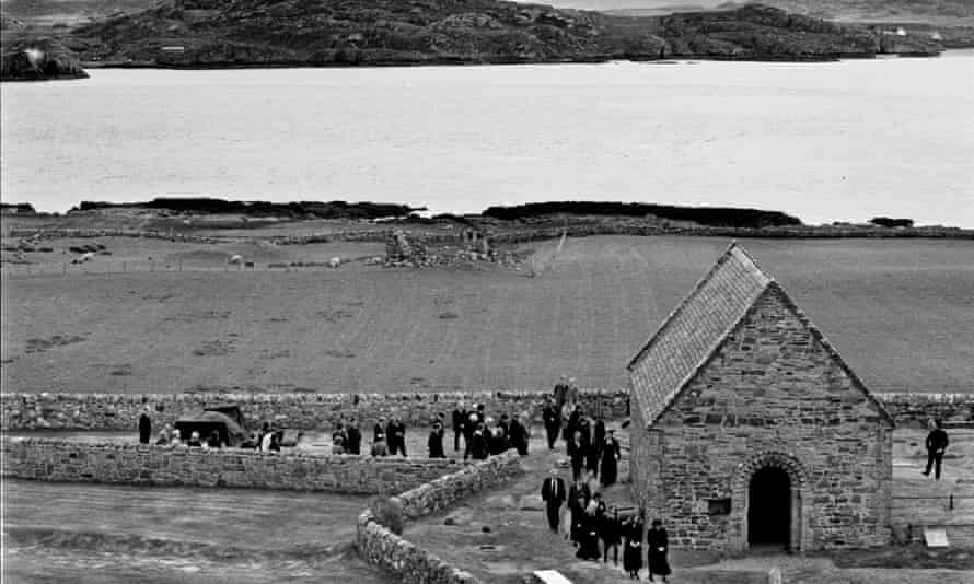 John Smiths funeral on Iona - May 1994